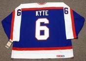 JIM KYTE Winnipeg Jets 1986 Away CCM NHL Vintage Throwback Jersey
