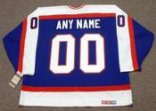 "WINNIPEG JETS 1980's CCM Vintage Jersey Customized ""Any Name & Number(s)"""