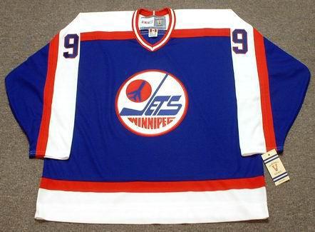 competitive price 27e38 c2348 BOBBY HULL Winnipeg Jets 1978 CCM Vintage Throwback NHL Hockey Jersey