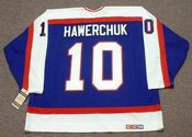 DALE HAWERCHUK Winnipeg Jets 1989 Away CCM NHL Vintage Throwback Jersey - Back