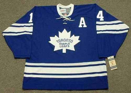 DAVE KEON Toronto Maple Leafs 1967 Home CCM Throwback NHL Hockey Jersey - FRONT