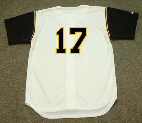 DOCK ELLIS Pittsburgh Pirates 1969 Home Majestic Throwback Baseball Jersey - BACK