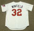 DAVE WINFIELD Minnesota Twins 1993 Majestic Throwback Home Baseball Jersey - BACK