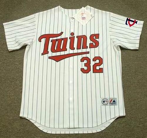 DAN GLADDEN Minnesota Twins 1991 Majestic Throwback Home Baseball Jersey - FRONT
