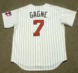 GREG GAGNE Minnesota Twins 1991 Majestic Throwback Home Baseball Jersey - BACK