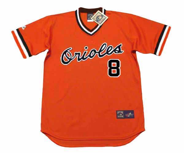 CAL RIPKEN Jr. Baltimore Orioles 1983 Majestic Cooperstown Alternate Baseball Jersey