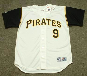 c2bff32a2 BILL MAZEROSKI Pittsburgh Pirates 1966 Majestic Throwback Home Baseball  Jersey - Custom Throwback Jerseys