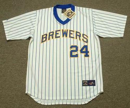 Ben Oglivie 1982 Milwaukee Brewers Cooperstown Home MLB Throwback Baseball Jerseys - FRONT