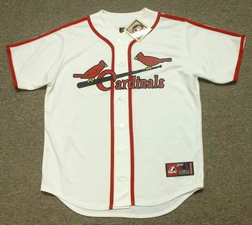 Albert Pujols 1940's St. Louis Cardinals Majestic MLB Baseball Throwback Jersey - FRONT