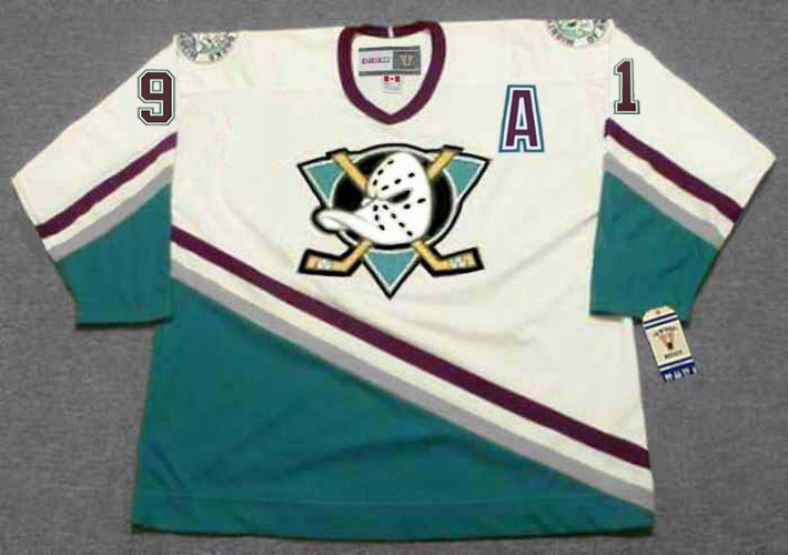 SERGEI FEDOROV Anaheim Mighty Ducks 2005 Away CCM NHL Vintage Throwback  Jersey - BACK. See 3 more pictures f6d190b8a
