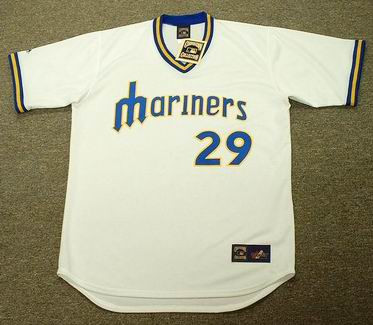 ADRIAN BELTRE Seattle Mariners Majestic Cooperstown Vintage Baseball Jersey - FRONT
