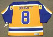 DREW DOUGHTY Los Angeles Kings 1980's CCM Vintage Throwback NHL Hockey Jersey