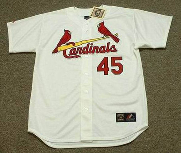 88abf399 Bob Gibson Jersey - St. Louis Cardinals 1967 Home Cooperstown Throwback MLB  Baseball Jersey