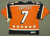 "PAUL COFFEY 1984 Campbell ""All Star"" CCM Vintage Throwback NHL Hockey Jersey"