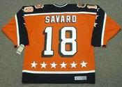 "DENIS SAVARD 1984 Campbell ""All Star"" CCM Vintage Throwback NHL Hockey Jersey"