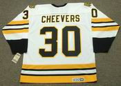 GERRY CHEEVERS Boston Bruins 1978 CCM Vintage Home NHL Hockey Jersey