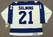 BORJE SALMING Toronto Maple Leafs 1987 Home CCM Vintage Throwback Hockey Jersey - BACK