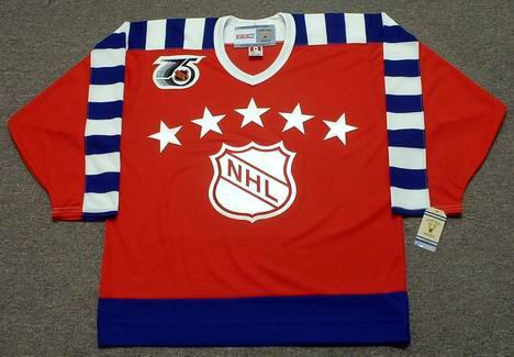 Al MacInnis 1992 Campbell All Star NHL Throwback Hockey Jersey - FRONT