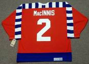 Al MacInnis 1992 Campbell All Star NHL Throwback Hockey Jersey - BACK
