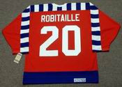 "LUC ROBITAILLE 1992 Campbell ""All Star"" CCM Vintage NHL Jersey"