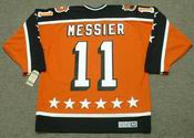 "MARK MESSIER 1984 Campbell ""All Star"" CCM Vintage Throwback NHL Hockey Jersey"