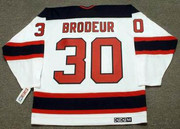 MARTIN BRODEUR New Jersey Devils 2003 Home CCM Throwback NHL Hockey Jersey - BACK