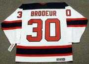 MARTIN BRODEUR New Jersey Devils 2003 Home CCM Throwback NHL Hockey Jersey - BACK