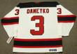 KEN DANEYKO New Jersey Devils 2003 Home CCM Throwback NHL Hockey Jersey - BACK