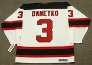 KEN DANEYKO New Jersey Devils 2003 Home CCM Throwback NHL Hockey Jersey - BACK