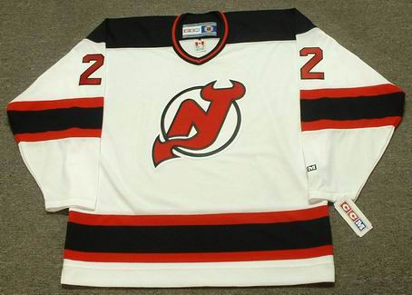 low priced 25d8a e38d2 CLAUDE LEMIEUX New Jersey Devils 1995 CCM Throwback Home NHL Hockey Jersey