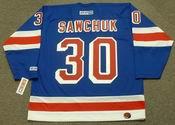 TERRY SAWCHUK New York Rangers 1969 CCM Throwback Hockey Jersey