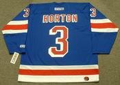 TIM HORTON New York Rangers 1970 CCM Throwback Hockey Jersey