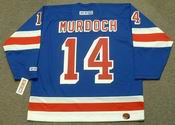 DON MURDOCH New York Rangers 1976 CCM Throwback Hockey Jersey