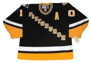 RON FRANCIS Pittsburgh Penguins 1994 CCM Vintage Throwback Away Hockey Jersey