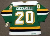 DINO CICCARELLI MN North Stars  Jersey 1988 Away CCM NHL Vintage Throwback