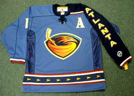 12fba80b35c DANY HEATLEY Atlanta Thrashers 2003 CCM Throwback NHL Hockey Jersey -  Custom Throwback Jerseys