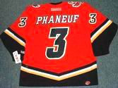 "DION PHANEUF Calgary Flames ""Rookie"" 2006 CCM Throwback NHL Hockey Jersey"