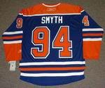 RYAN SMYTH Edmonton Oilers REEBOK Home NHL Hockey Jersey