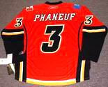 DION PHANEUF Calgary Flames 2008 REEBOK Throwback NHL Hockey Jersey