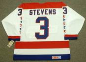 SCOTT STEVENS Washington Capitals 1988 CCM Vintage Throwback Home NHL Jersey