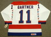 MIKE GARTNER Washington Capitals 1988 CCM Vintage Throwback Home NHL Jersey