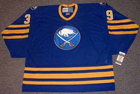 db59e5d7b0f DOMINIK HASEK   Buffalo Sabres 1994 Away CCM Vintage Throwback NHL Hockey  Jersey