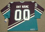 1990's CCM Vintage Away Customized Anaheim Mighty Ducks Jersey - BACK