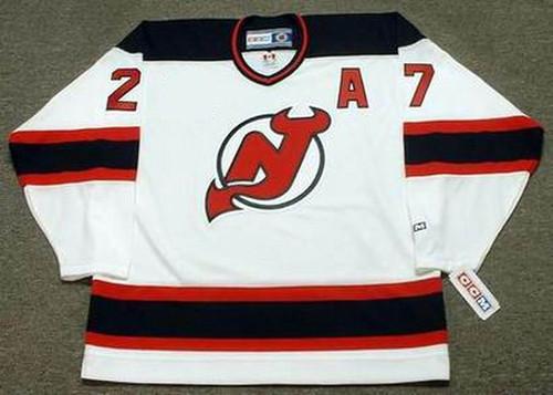 SCOTT NIEDERMAYER New Jersey Devils 2003 Home CCM NHL Vintage Throwback Jersey - FRONT
