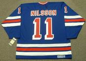 ULF NILSSON New York Rangers 1979 CCM Vintage Throwback NHL Hockey Jersey