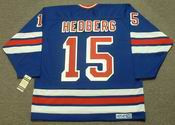 ANDERS HEDBERG New York Rangers 1979 CCM Vintage Throwback NHL Hockey Jersey