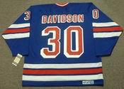 JOHN DAVIDSON New York Rangers 1980 CCM Vintage Throwback NHL Hockey Jersey