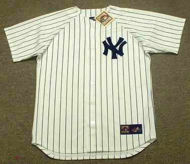 new style bc62e a2a36 DON MATTINGLY New York Yankees 1985 Majestic Cooperstown Home Jersey