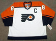 ERIC LINDROS Philadelphia Flyers 1999 CCM Throwback Home NHL Hockey Jersey - Front