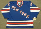 NICK FOTIU New York Rangers 1982 CCM Vintage Throwback NHL Hockey Jersey